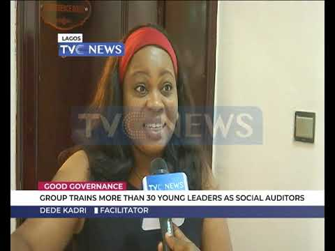 Good Governance: Group trains more than 30 Young Nigerians in Social Auditor