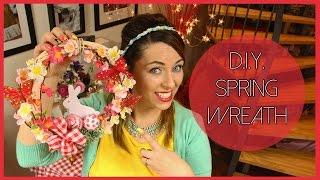 D.I.Y. Spring Wreath - Ghirlanda Primaverile Fai Da Te | Hello Spring! #DAY1