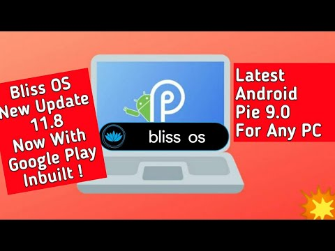 Bliss OS for x86: installing from within Windows - смотреть онлайн
