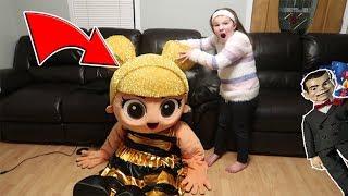 LOL Surprise In Real Life Unmasked! Birthday Present Scavenger Hunt! Slappy Returns
