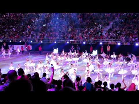 Chingay ParadeSingapore 2014 ★Colours Of Fabric,One People★ 妆艺游行&quot布海同心&quot