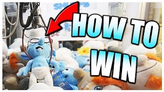 How To Win On RIGGED CLAW MACHINES! || Arcade Games