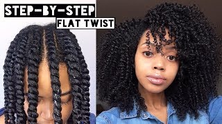 "<center><p>Flat Twist Out on Natural Hair</p></center>"" />             </div>   </div>   <div class="