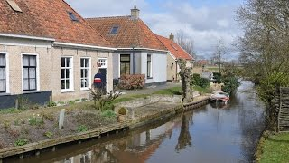 Northern Holland - Countryside & Villages Of Central Fryslân [April 6, Easter 2015]