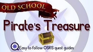 Pirate's Treasure   OSRS 2007   Easy Old School Runescape Quest Guide