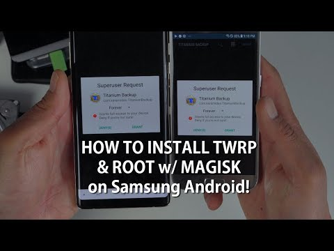 How To Install TWRP & Root W/ Magisk On Samsung Android! [UNIVERSAL METHOD] [Android Root 101 #2] Mp3