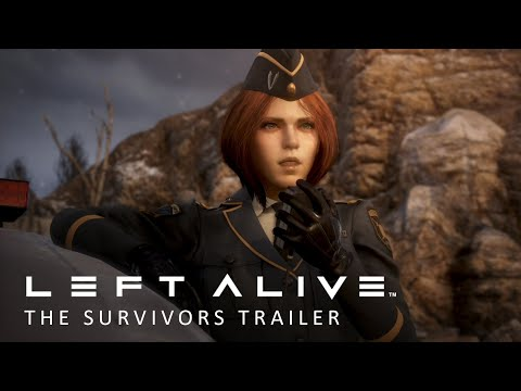 "LEFT ALIVE – ""The Survivors"" (Character Trailer) thumbnail"