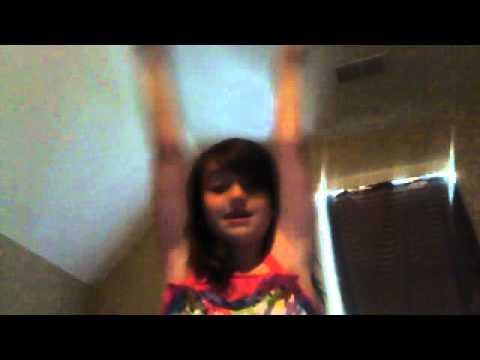 10 year old girl dancing
