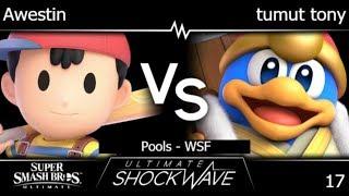 USW 17 - TLOC | Awestin (Ness) vs HMO | tumut tony (DDD) Pools - WSF - SSBU