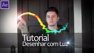 Efeitos Adobe After Effects - Tutorial Desenhar com Luz