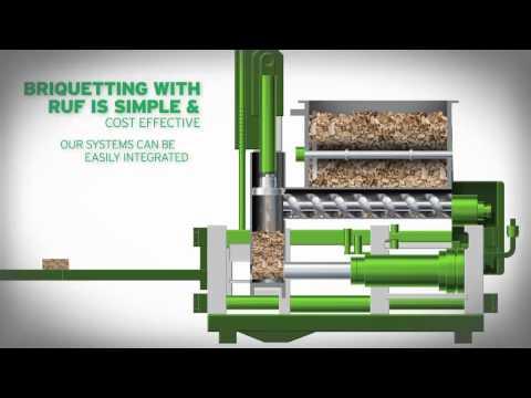 Briquetting: Solving the Wood Waste Dilemma | Wood Briquette Machines