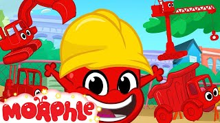 Morphle Loves Building Morphle Shorts +1 Hour My Magic Pet Morphle Kids Vehicle Compilation