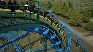 Lightning Run NEW Roller Coaster Kentucky Kingdom 2014 Offride Video