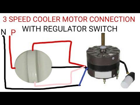 multi speed cooler motor