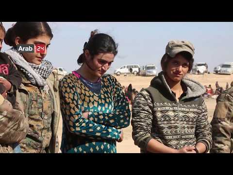 Syria | Yazidi Woman Freed From ISIS In Al-Baghuz