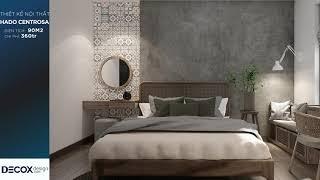 Mẫu thiết kế nội thất căn hộ Hado Centrosa 90m2 - Quận 10