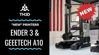 Geeetech A10 Build & Print vs Ender 3 Creality - hmong video
