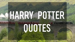 Magical Quotes From Harry Potter By J.K. Rowling
