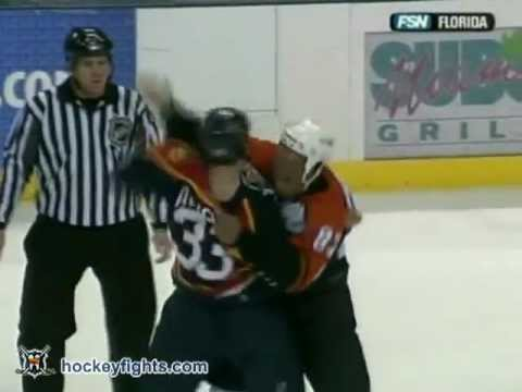 Jamie Allison vs. Donald Brashear