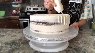 Baptism Cake In 60 Seconds