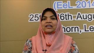 Dr. Nurul Fazmidar Mohd Noor at EeL Conference 2014 by GSTF