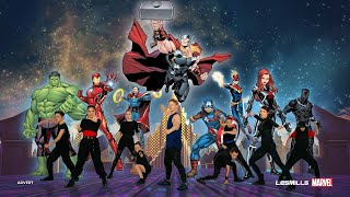 MOVE LIKE THE AVENGERS | Marvel x Les Mills 5-minute Kids Workout