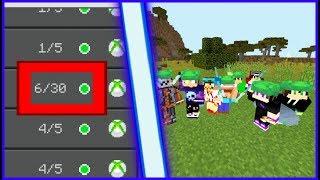 КАК ПРИГЛАСИТЬ В СВОЙ МИР БОЛЬШЕ ПЯТИ ИГРОКОВ В Minecraft pe!