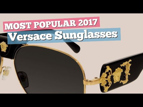 Versace Sunglasses Collection // Most Popular 2017