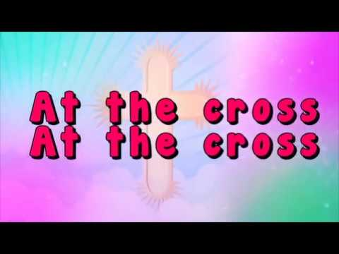 at the cross love ran red lyric video because he lives