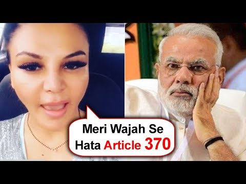 Rakhi Sawant's MUST Watch Video On Article 370