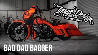 Sykes Harley Davidson Bad Dad Bagger // Image Design Custom