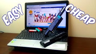 """Revive / Repair a Laptop Battery """" plugged in, not charging """""""