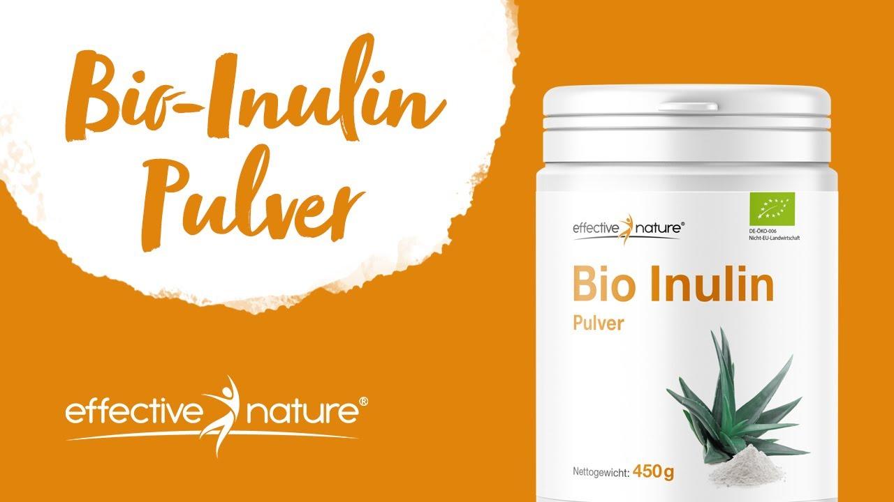 Inulin Pulver von effective nature
