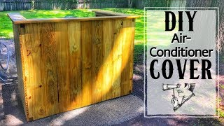 how to make a fence around your ac unit - Free video search site