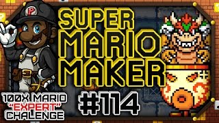 "Super Mario Maker w/ PKSparkxx #114 - 100 Mario Expert Courses | ""Japanese Guessing Games"""
