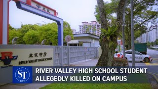 River Valley High School student allegedly killed on campus | ST LIVE