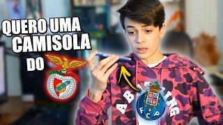 LIGUEI PARA O PORTO A PEDIR UMA CAMISOLA DO BENFICA! (correu Mal)