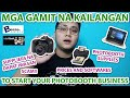 MGA GAMIT NA KAILANGAN TO START YOUR PHOTOBOOTH BUSINESS (DETAILED) | PHOTOBOOTH TUTORIAL