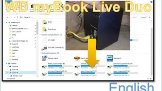 How to Connect NAS to Windows 10: WD myBook Live DUO Network Storage