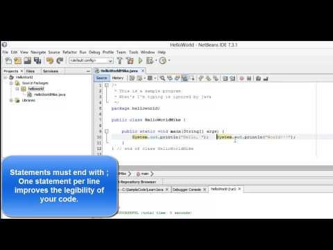 Learn Programming in Java – Lesson 01 : Java Programming Basics