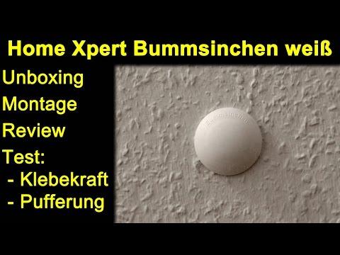 Home Xpert Türpuffer Bummsinchen weiß - Auspacken, Review, Test der Klebekraft und Pufferung