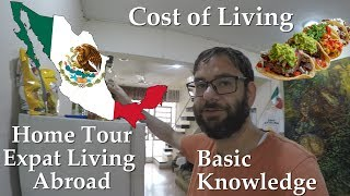 My Mexican House Tour - Living in Merida Mexico - Tips for living in Mexico on a Budget