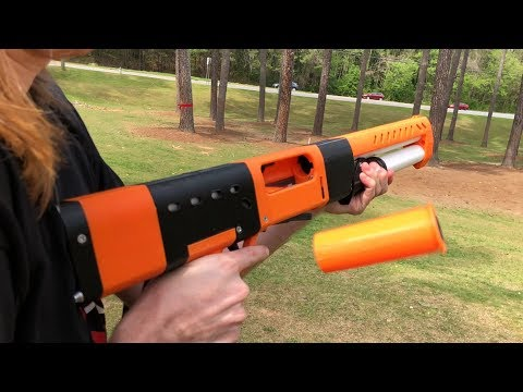 spring thunder shell ejecting foam dart blaster wip by gdop26