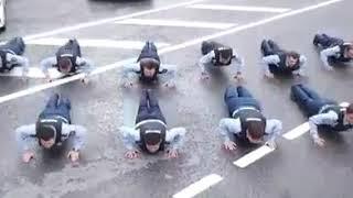 Алматинские полицейские приняли челлендж от своих столичных коллег) Кто следующий ?