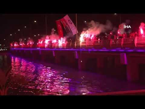 Antalyaspor'un 55. kuruluş coşkusu