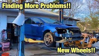 Rebuilding A Stolen Salvage Auction Subaru STI Part 1
