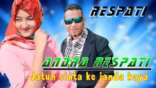 Jatuh Cinta Ke  Janda Kaya -   Andra Respati (Lyrics)