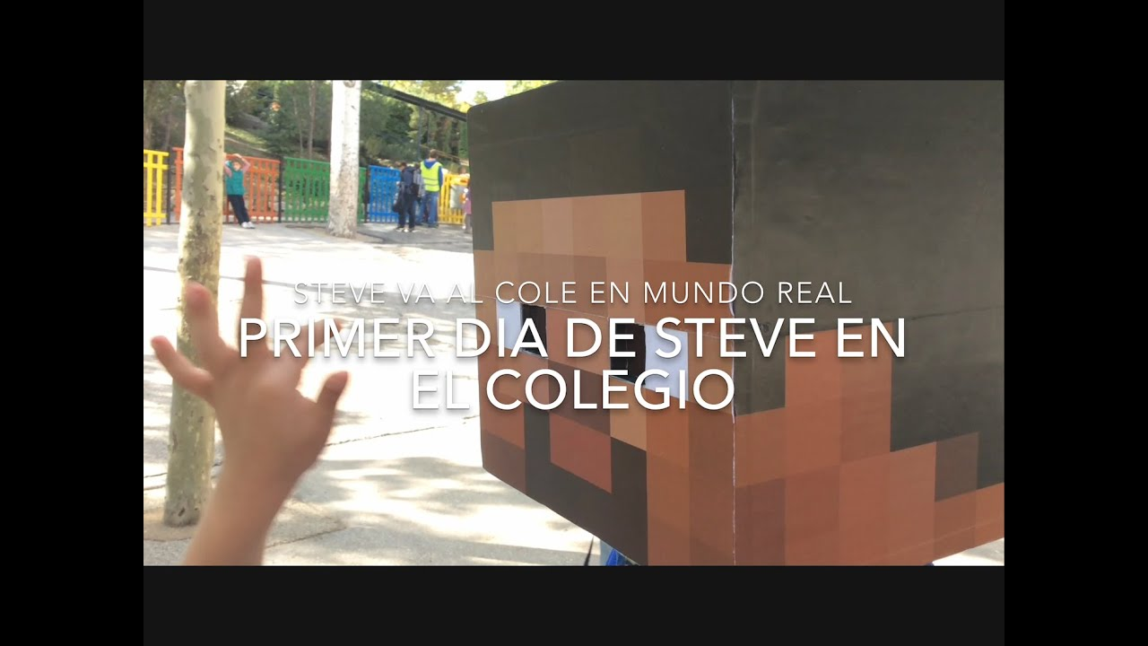 PRIMER DIA DE COLE PARA STEVE - Minecraft en la vida real