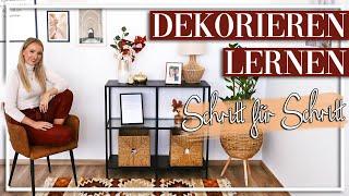 So DEKORIERST Du In 13 Schritten JEDEN Raum - Meine Tipps Für Stilvolle Dekoration!
