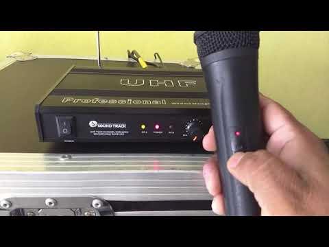 Como conectar micrófonos inalámbricos